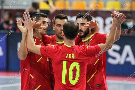 Editorial photo of Futsal: EuroCup - Spain v Latvia, Las Rozas, Madrid - 08 Dec 2020