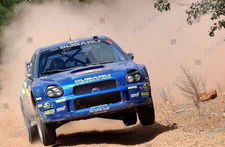 2002 World Rally Championship. Telstra Rally Australia, Perth. October 31st-November 3rd. Petter Solberg on stage 23. Photo: Ralph Hardwick/LAT