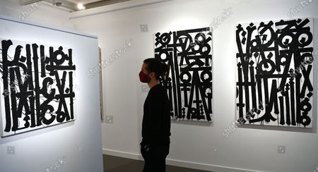 Editorial picture of Retna exhibition in London, United Kingdom - 08 Dec 2020