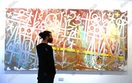 Editorial image of Retna exhibition in London, United Kingdom - 08 Dec 2020