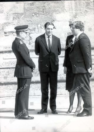 Lord Leon Brittan Funeral Wpc Yvonne Fletcher Sir Kenneth Newman And Leon Brittan. Baron Brittan Of Spennithorne ...politicians