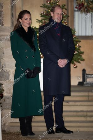 Stock Image of Prince William and Catherine Duchess of Cambridge