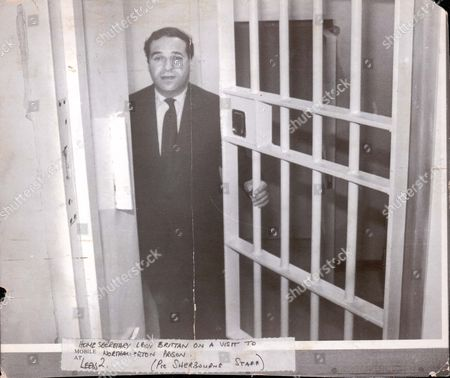 Lord Leon Brittan Home Secretary Leon Brittan On A Visit To Northallerton Prison Baron Brittan Of Spennithorne ...politicians