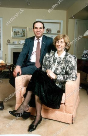 Editorial picture of Lord (leon) Brittan Sir Leon And Lady Diana Brittan (d.b.e. 6/04) (baron And Baroness Brittan Of Spennithorne) ....politician