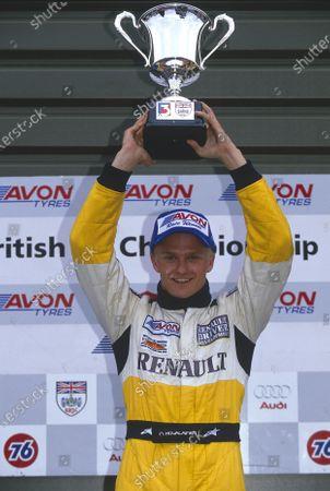 Editorial image of 2002 British Formula Three Championship, Snetterton, United Kingdom - 08 Dec 2020