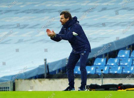 Marseille manager Andre Villas-Boas
