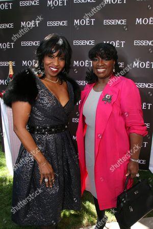 Paulette Washington and LaTanya Richardson