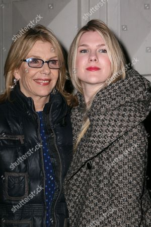 Stock Image of Jill Clayburgh, Lily Rabe