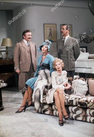 Ronald Fraser, Joan Collins, Susannah York and Michael Aldridge