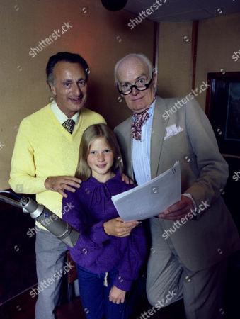 Stock Image of Paul Eddington, Giselle Andrews and John Barron.
