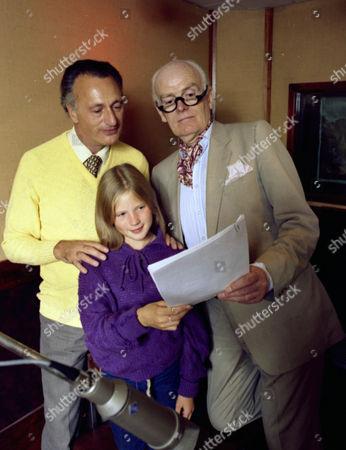 Stock Photo of Paul Eddington, Giselle Andrews and John Barron.