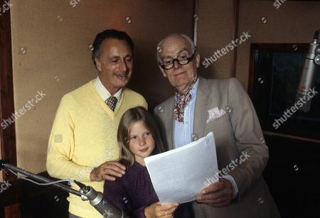 Paul Eddington, Giselle Andrews and John Barron.