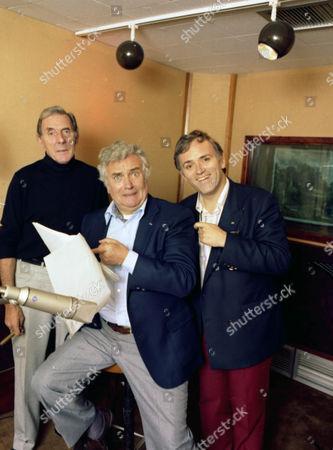 Eric Sykes, Michael Bentine and Royce Mills.