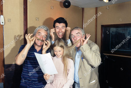 Michael Bentine, Leslie Crowther, Giselle Andrews and Windsor Davies.