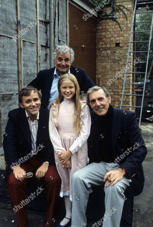 Eric Sykes, Giselle Andrews, Michael Bentine and Royce Mills.
