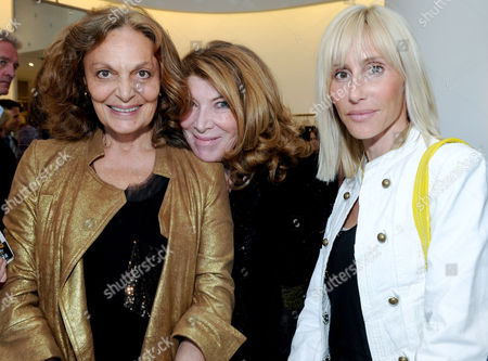 Diane von Furstenberg, Nona Summers and Alexandra von Furstenberg