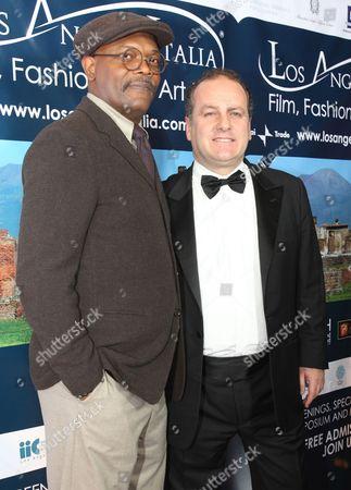 Samuel Jackson and Pascal Vicedomini