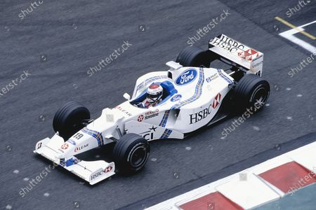 Magny-Cours, France.  26-28 June 1998. Jos Verstappen (Stewart SF2 Ford). Ref-98 FRA 68. World Copyright - Martyn Elford/LAT Photographic
