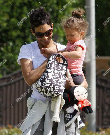 Halle Berry and daughter Nahla Ariela Aubry