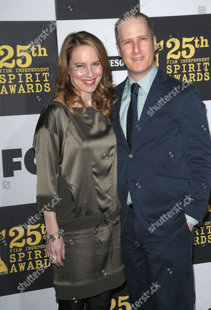Amy Ryan and Eric Slovin