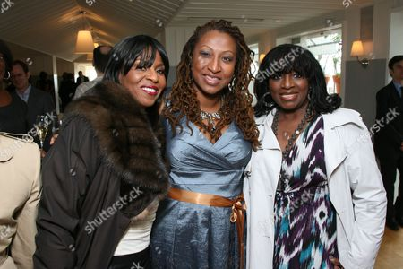 Pauletta Washington, Lisa Cortes and LaTanya Jackson