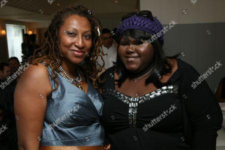 Lisa Cortes and Gabourey Sidibe