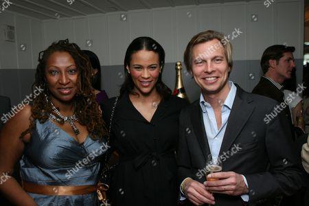 Lisa Cortes, Paula Patton and Ludovic du Plessis