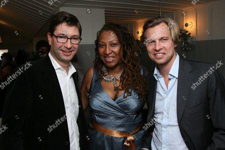 Laurent Boidevezi, Lisa Cortes and Ludovic du Plessis