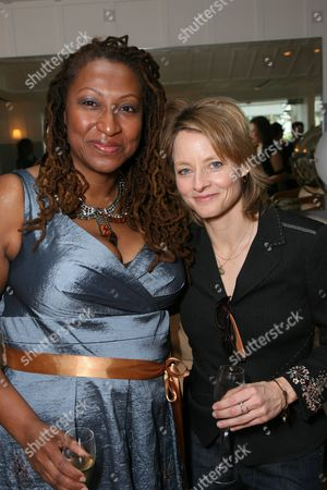 Lisa Cortes and Jodie Foster