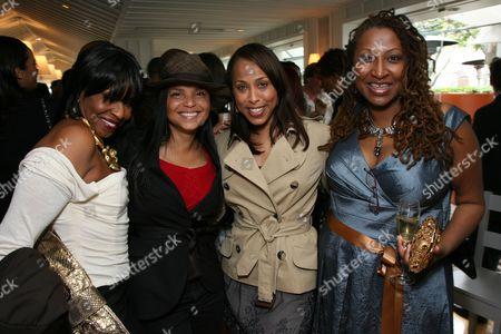 Pauletta Washington, Victoria Rowell, Marjorie Harvey and Lisa Cortes