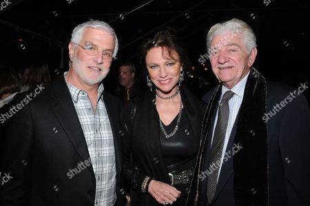 Stock Picture of Summit Entertainment's Rob Friedman, Jacqueline Bisset and Seymour Cassel