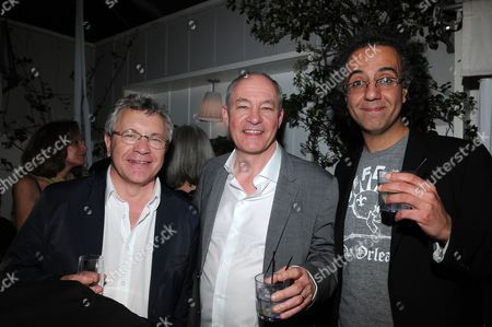 Stock Image of Ray Beckett, Barry Ackroyd and Duraid Munajim
