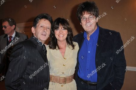 Frank Allen, Vicki Michelle and Mike Read