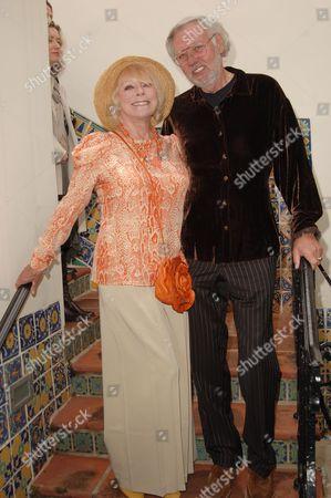 Elke Sommer & husband Wolf Walther