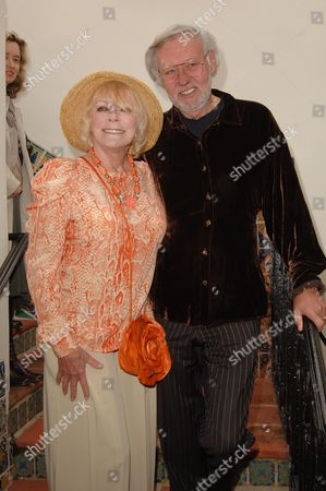 Stock Photo of Elke Sommer & husband Wolf Walther