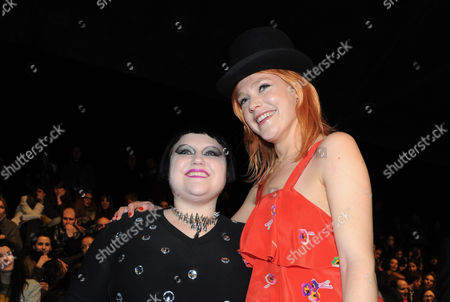 Beth Ditto and Micky Green