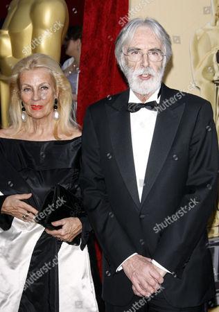 Stock Image of Michael Haneke and wife Susi
