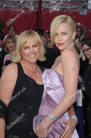Charlize Theron and mother Gerda Theron