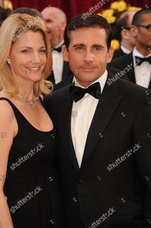 Steve Carell  and wife Nancy Walls
