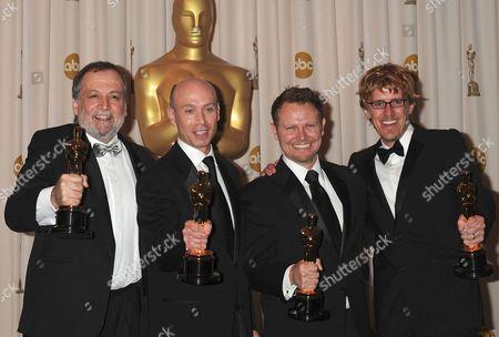 Joe Letteri, Stephen Rosenbaum, Richard Baneham and Andrew Jones (Best Visual Effects for 'Avatar')
