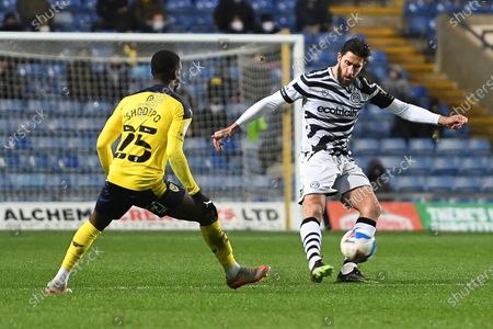 Editorial picture of Oxford United v Forest Green Rovers, EFL Trophy - 08 Dec 2020