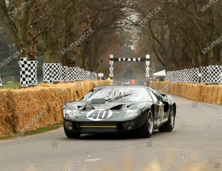 Goodwood Estate, West Sussex 17th March  2011. Joe Twyman Ford GT40 ex Peter Sutcliffe World Copyright: Jeff Bloxham/LAT Photographic. Ref: Digital Image Only