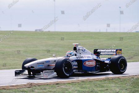Buenos Aires, Argentina.  10-12 April 1998. Esteban Tuero (Minardi M198 Ford). Ref-98 ARG 47. World Copyright - Martyn Elford/LAT Photographic