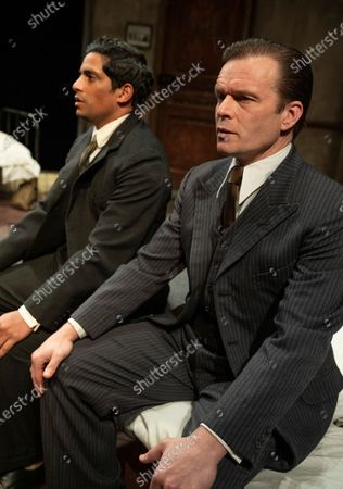 Stock Image of Shane Zaza as Gus, Alec Newman as Ben