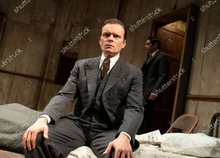Editorial photo of 'The Dumb Waiter' Play by Harold Pinter performed at Hampstead Theatre, London, UK - 08 Dec 2020