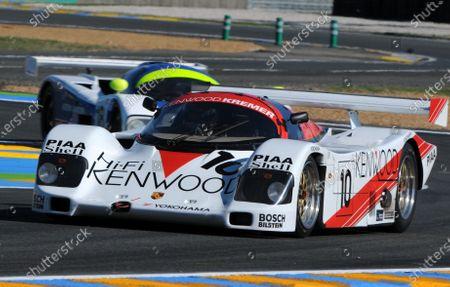 2008 Le Mans 24 Hours, Le Mans, France 9th-15th June Le Mans Legends-Simon Wright (10) Porsche 962 leads Paul Whight (18) Jaguar XJR11 Worldwide copyright: Dave Friedman/LAT Photographic Ref; Digital Image Only