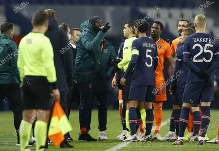 Editorial image of Paris Saint-Germain vs Istanbul Basaksehir, France - 08 Dec 2020