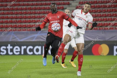 Editorial picture of Soccer Champions League, Rennes, France - 08 Dec 2020
