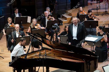 Editorial image of Nobel Prize Concert 2020, Stockholm Concert Hall, Stockholm, Sweden - 08 Dec 2020