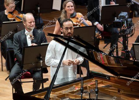 Editorial picture of Nobel Prize Concert 2020, Stockholm Concert Hall, Stockholm, Sweden - 08 Dec 2020